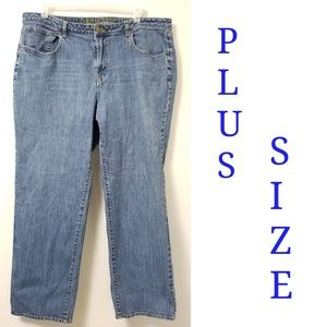 Cato Plus Size High Rise High Waist Jeans Size 22W